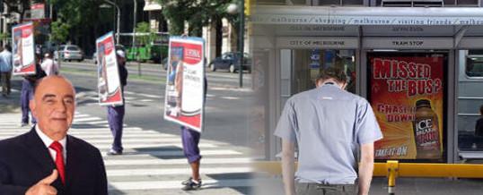 Empresas de publicidad en la vía pública