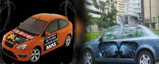 Publicidad en autos, una opción eficáz