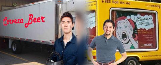 Publicidad en camiones y vehículos de gran tamaño