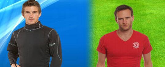 Algunas ideas para publicidad de ropa sport de hombres y mujeres