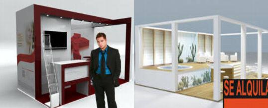 alquiler de mobiliario para stands