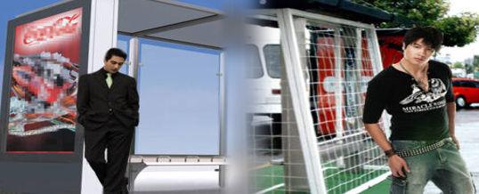 Publicidad exterior en paradas de bus